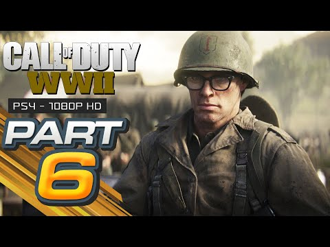 Call of Duty WW2 Walkthrough Gameplay Part 6 - COLLATERAL DAMAGE - Campaign Mission 6