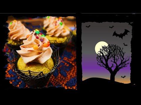 Halloween Carrot Cupcakes I Karotten Küchlein