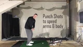 Golf Research - Dr. Ferdinands, Arm Adduction - Punch Shot Drill