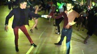 John Narvaez & Andrew Cervantes social salsa dancing @ 2018 L.A. Salsa Fest!