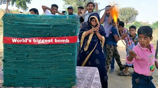 World's Biggest Firecrackers competition || Diwali special Dhamaka ||