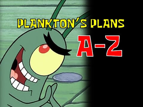 Thumbnail: Plankton's Plans A-Z (SpongeBob Seasons 1-5 plus Movie)