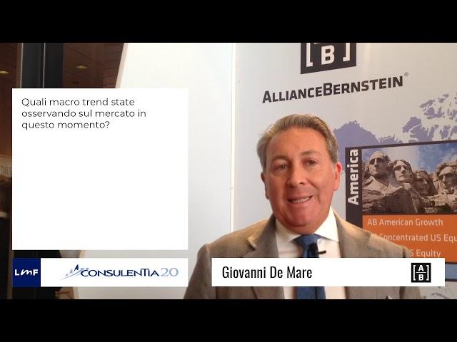 Consulentia 2020 - Giovanni De Mare (AllianceBernstein)