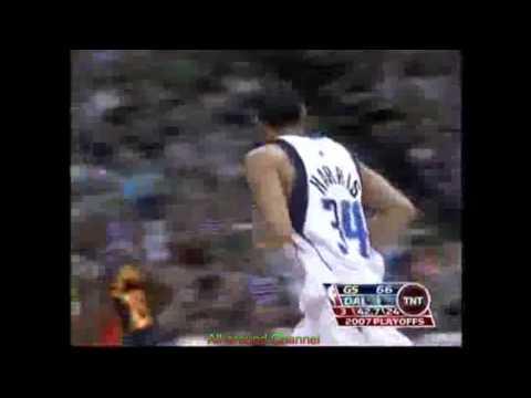 Devin Harris 19 Points Vs. Warriors, 2007 Playoffs Gm 1.
