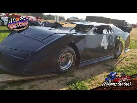 #4 Roy Merriman - Super Late Model - 8-11-18 Fort Payne Motor Speedway - In Car Camera