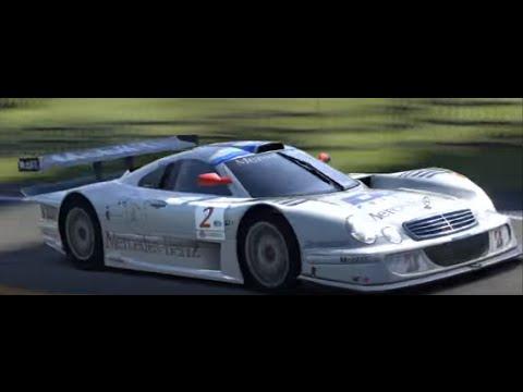 GT5】 Mercedes-Benz AMG CLK-LM Race Car '98 【DEMO】 - YouTube