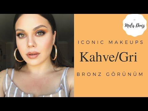 KAHVE/GRİ BRONZ GÖRÜNÜM l Iconic Makeups