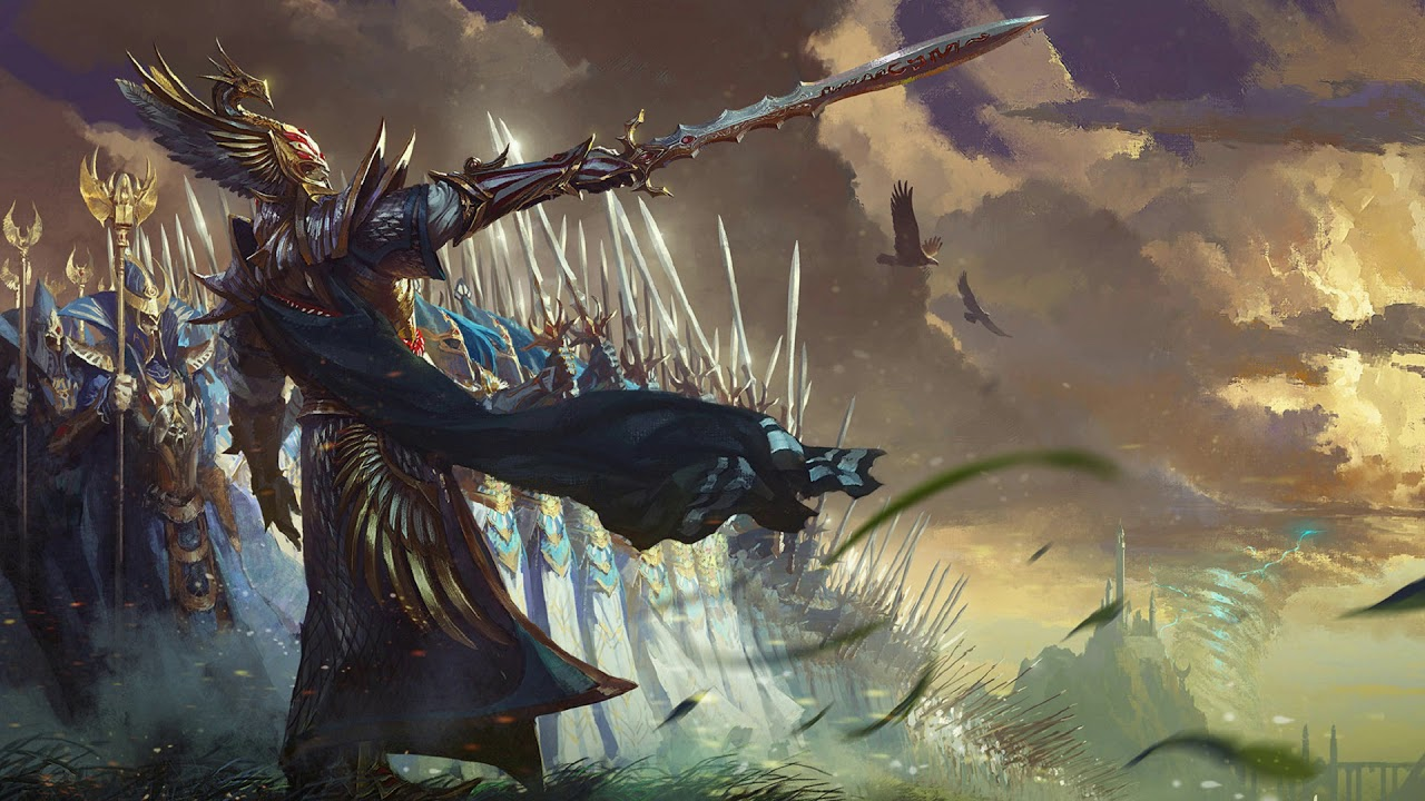 Total War Warhammer Wallpaper Hd Host Of The Phoenix King Total War Warhammer 2