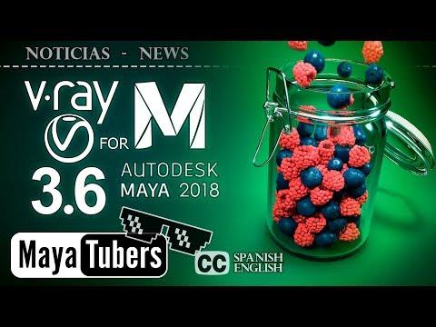Review y Mejoras de VRay 3.6 para Maya - V-Ray 3.6 - CryptoMatte - Hybrid Render - MayaTubers