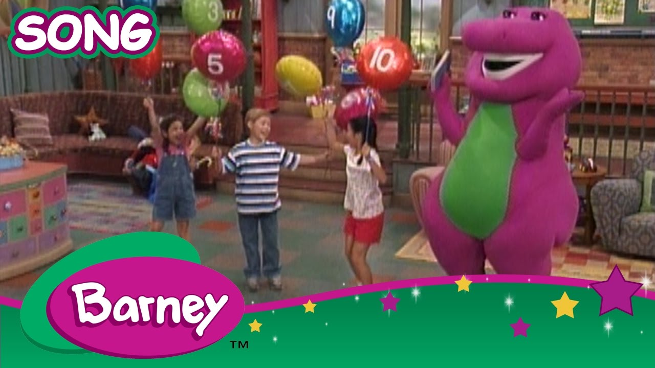 Barney - I Love the Holidays, Oh Christmas Tree Songs and More - YouTube