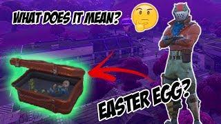 Oeuf de Pâques caché dans les conteneurs d'expédition (fr) Une mallette secrète ? - Fortnite Bataille Royale