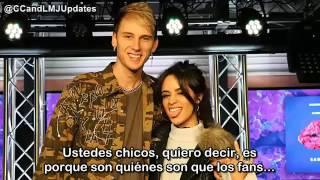 Camila Cabello y MGK entrevista en la radio (Español)