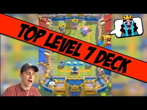 Best Level 7 Battle Deck! Clash Royale Tips!