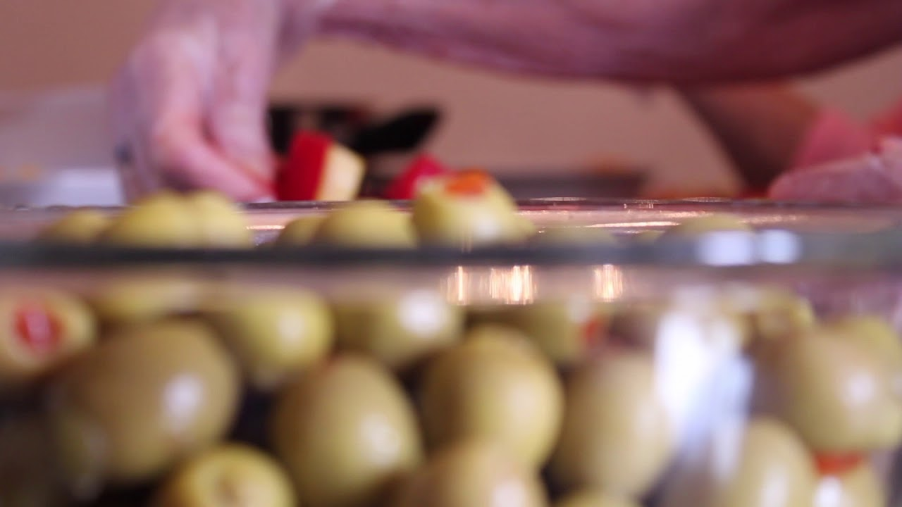 Olives and fruit Free Stock Footage