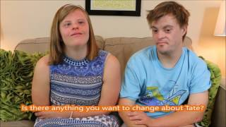 College Sweethearts with Down syndrome