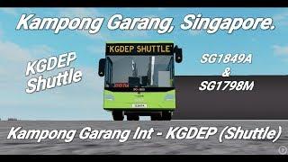 Go-ahead Roblox| Carnival Shuttle | Kampong Garang Int - Kampong Garang Depot|