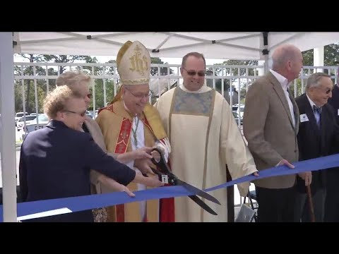 Guardian Catholic School receives blessing