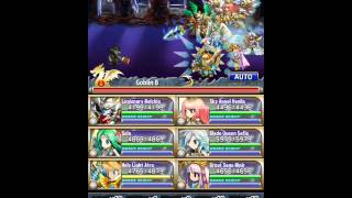 [Brave Frontier] Unholy Tower Floor 1-10 Boss Fight!