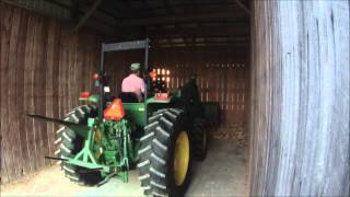Cleaning Out Corn Crib 2015