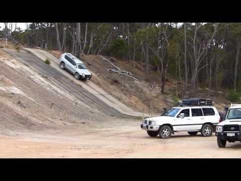 Hyundai Tucson 2015 Off Road Course