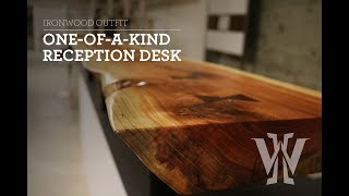 One of a Kind Reception Desk!
