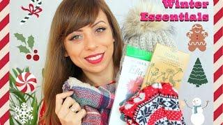 Winter Essentials - Любими продукти през зимата (козметика, дрехи и още)