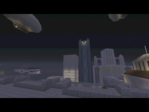 Minecraft Gotham City: World Tour (So Far)