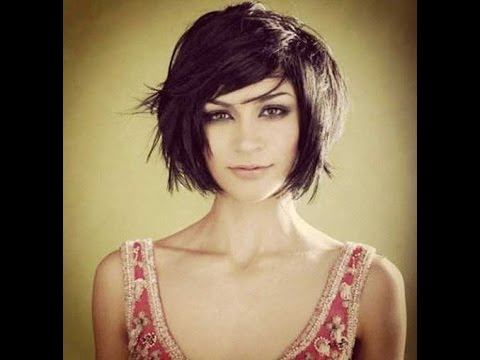 unique chin length hairstyles