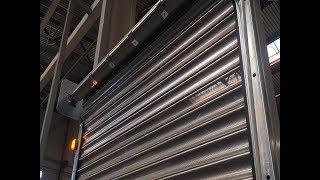 видео Решетки роллетного типа Alutech, DoorHan. Установка и монтаж ролл-решеток в Алматы (Казахстан)