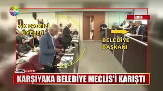 Karşıyaka Belediye Meclis'i karıştı