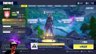 The Darkness Rises!!! Season 6 PS4 !! Live!!! (fortnite battle Royale ) WITH GIVEAWAYS!!!