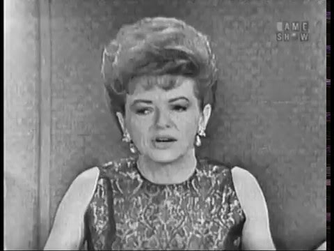 To Tell the Truth - FBI counterspy; PANEL: Johnny Carson, Betty Furness (Jan 1, 1962)