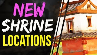 NEW SHRINE LOCATIONS FortNite Battle Royale - OMG THE LOOT!! NEW UPDATE LOCATIONS