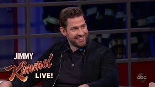 John Krasinski on Brooklyn, Halloween & Boston Red Sox