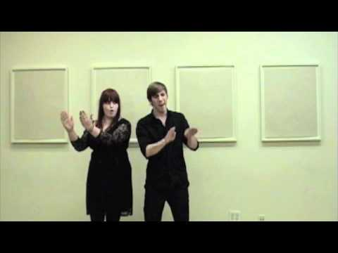 Baby It's Cold Outside ASL Jason T Gaffney Kate Campbell Duet New School