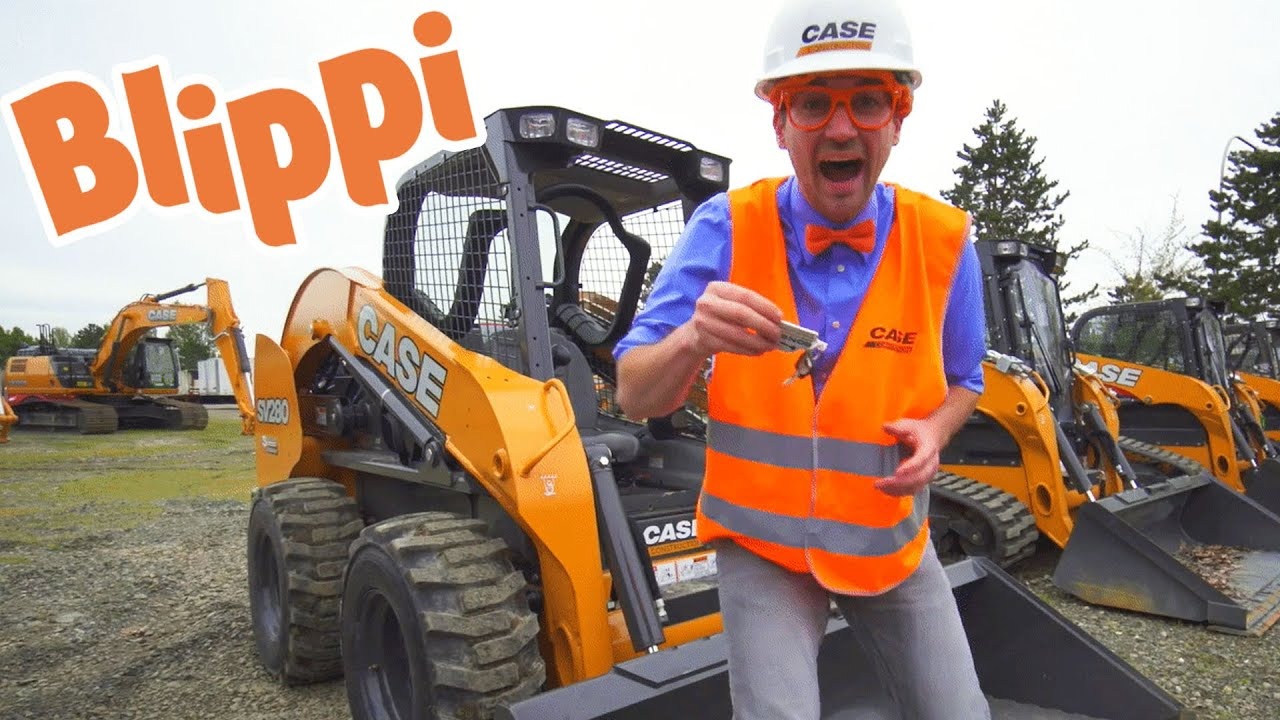 Learning Construction Trucks For Kids With Blippi | Educational Videos For Toddlers
