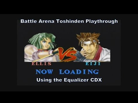 Battle Arena Toshinden 1 Ellis Playthrough Using The Equalizer Cdx