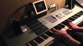 """Blues on request"" Original music on Yamaha Motif XS8"