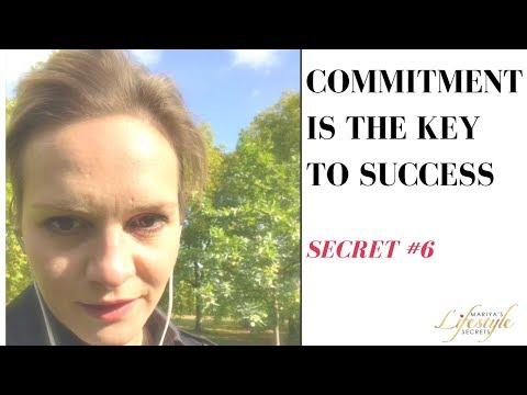 ✅ Mariya's Lifestyle Secrets- Secret#6: Commitment Is The Key to Success 🙏😎