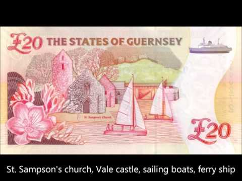 BANKNOTES GUERNSEY ISSUE 1994-2015