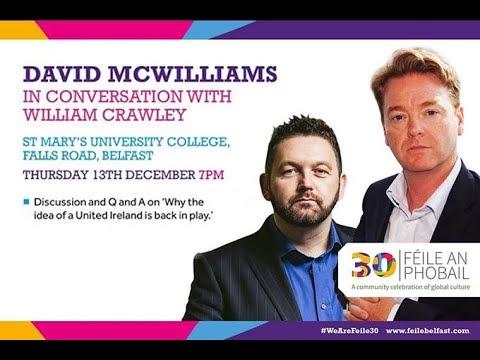 David McWilliams in conversation with William Crawley