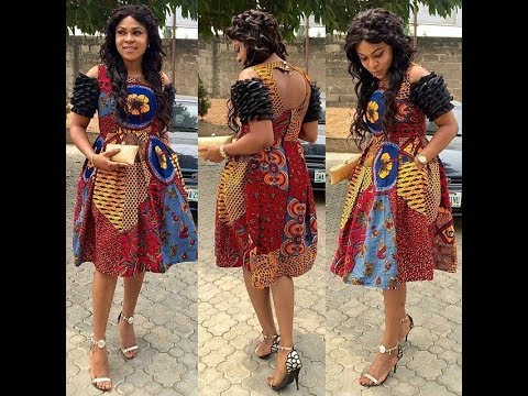 Latest African Print Dresses 2018: New Ankara Styles Fashion For Girls