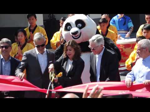 DreamWorks Theater Grand Opening Ceremony from Universal Studios Hollywood