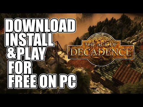 The Age of Decadence PC - Download, Install and Play for Free