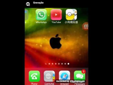 Launcher de iPhone para o Android!
