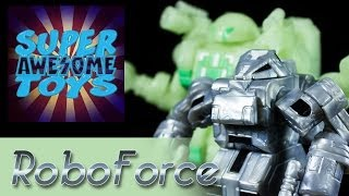 "ToyFinity's Robo Force ""Sentinel and Wrecker"" Action Figure Video Review"