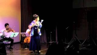 井上陽水さんの名曲「少年時代」キモノフルーティストの桃サクラの演奏...