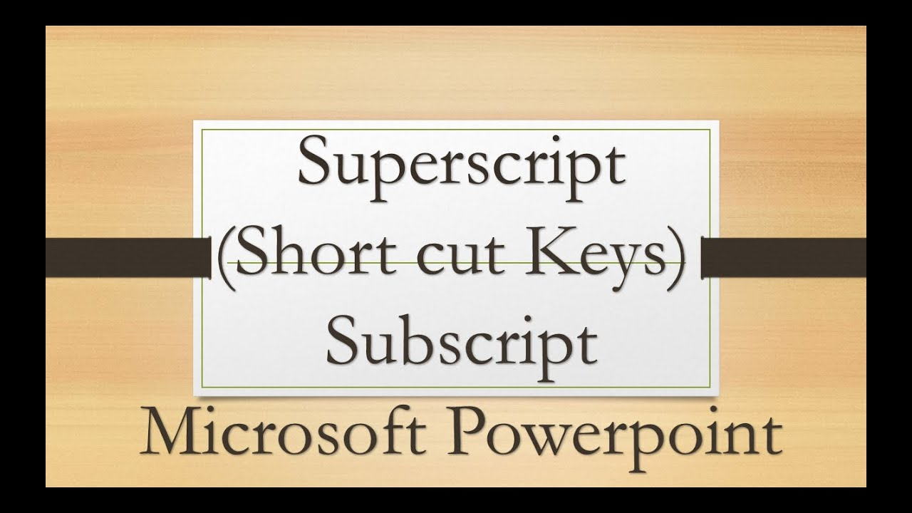 How to write double subscript in word