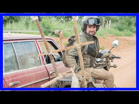[Breaking News]Richard Hammond falling off his motorbike in Ethiopia thirty times The Grand Tour co