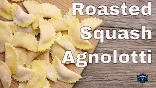 Roasted Squash Agnolotti Recipe - Le Gourmet TV 4K
